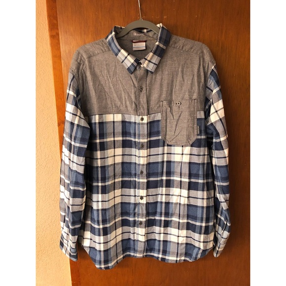db2f7207c0e Columbia Shirts | Deschutes River Long Sleeve Flannel | Poshmark